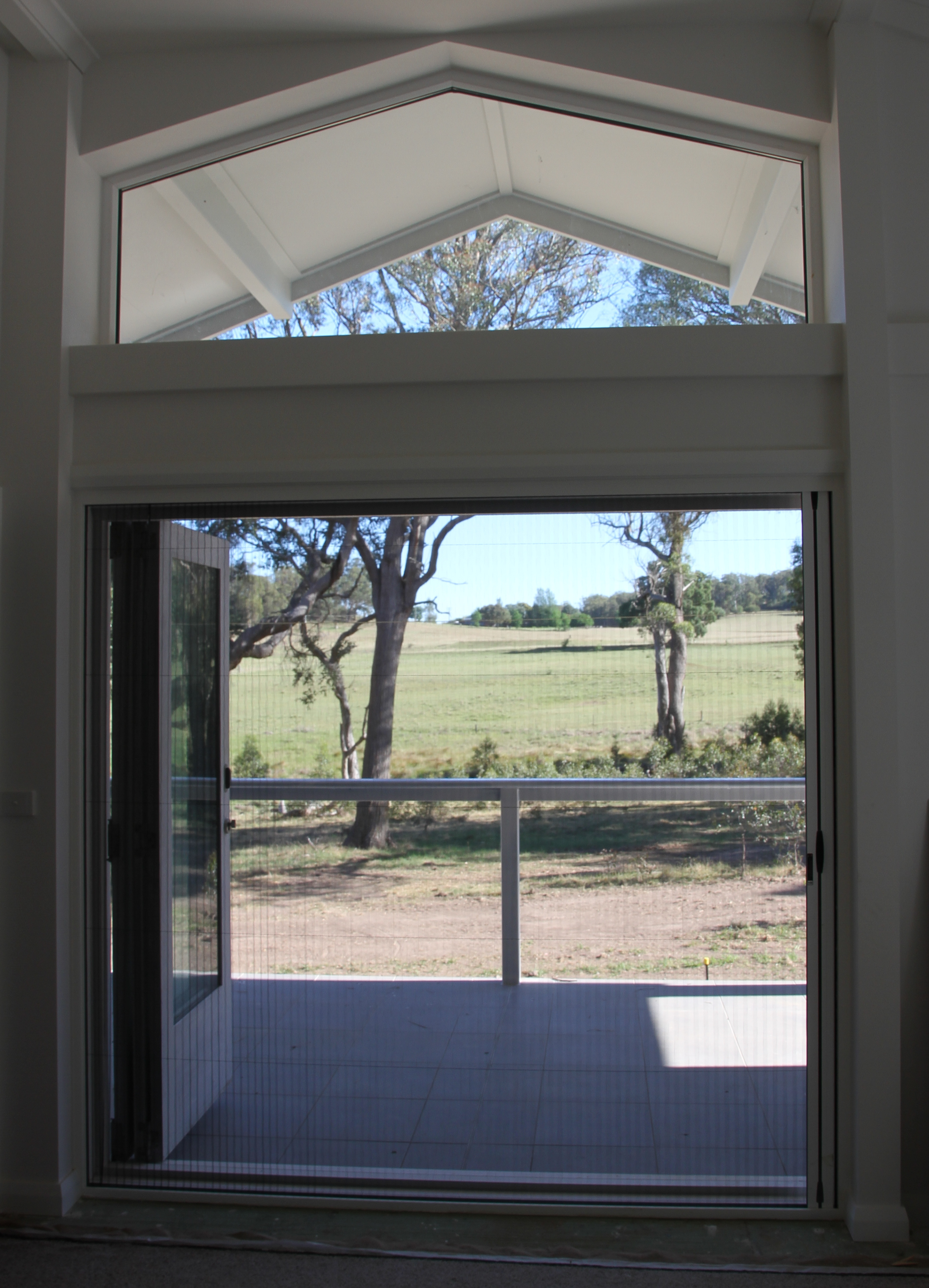 Flyscreen doors for Screen for door that opens out