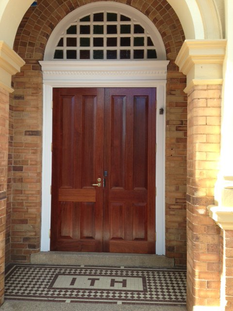 Inverell Town Hall Doors