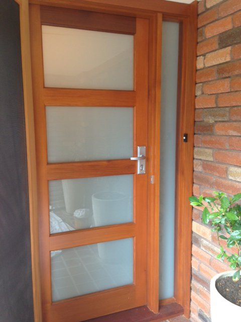 4 Lite Entrance Door with Trans Laminate