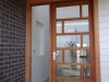 Multi Lite Entrance Door with Sidelight