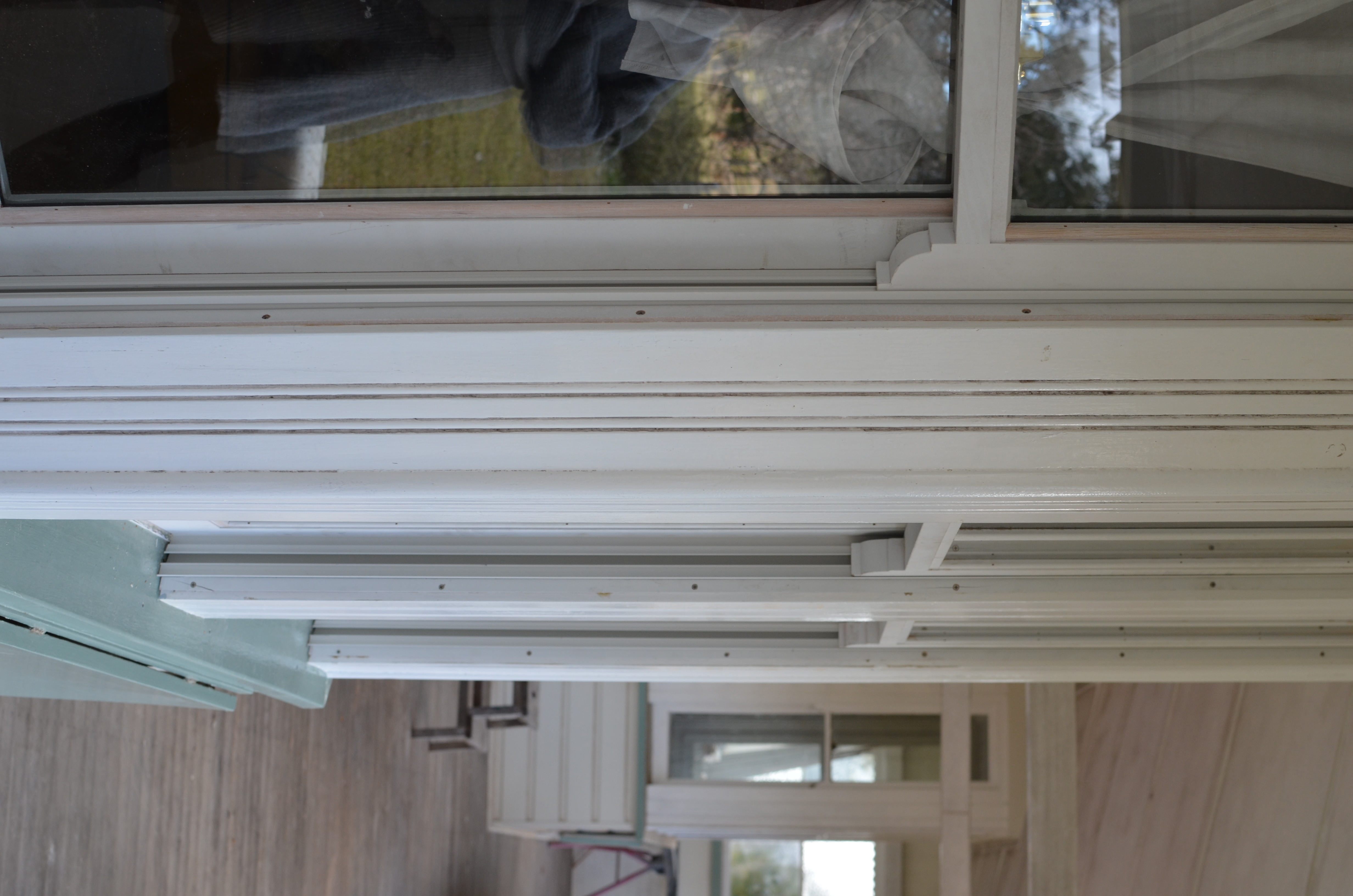 Hooper Bay Window Sashes with Horn and Megajambliners