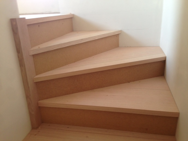 Stair Detail of Risers and Winders