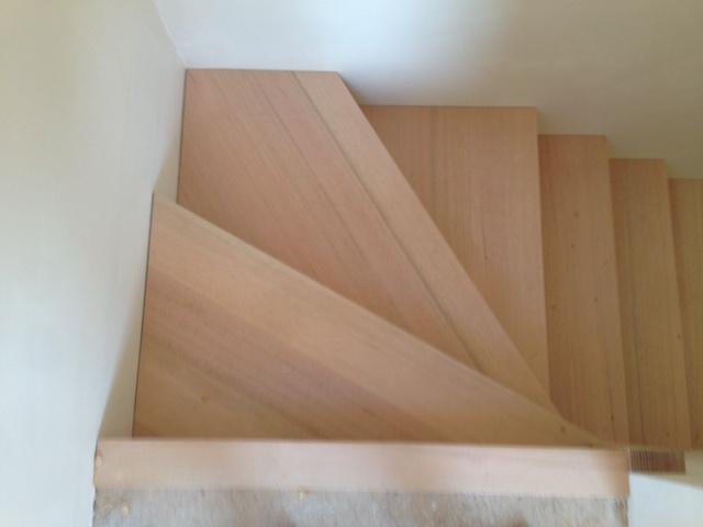 Stair Detail of Winders