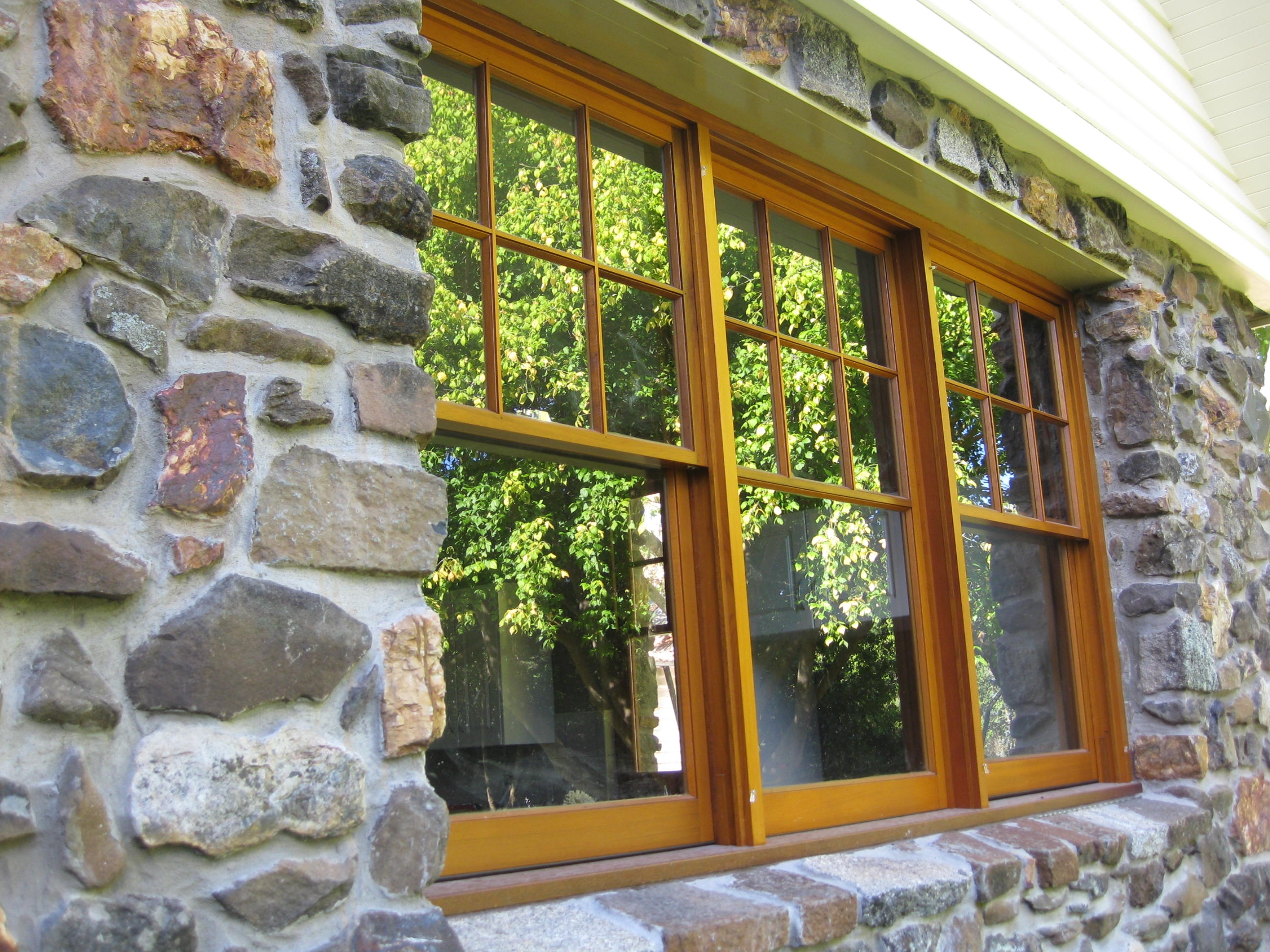 Triple Double Hung Windows with 4 Lite Top Sash - Barker