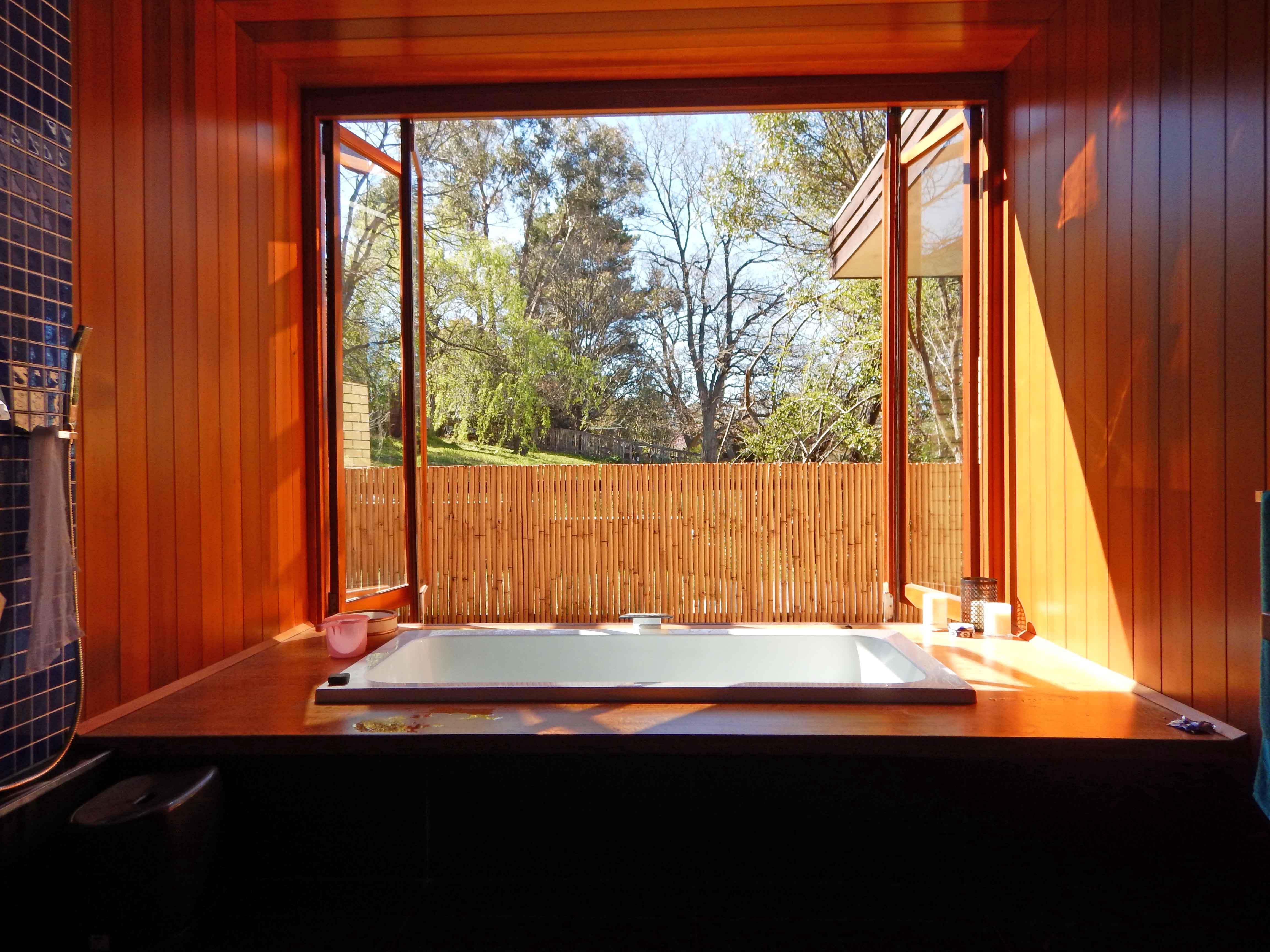 Bifold Window in Bathroom - Moore