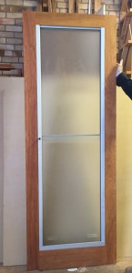 Sashless Double Hung In Door